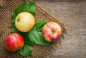 Apel serat konstipasi